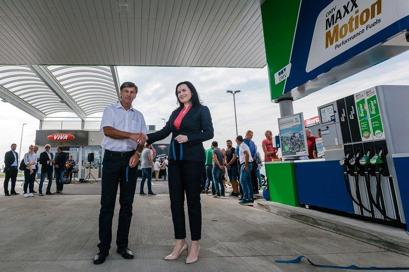 Otvoritev bencinskega servisa OMV Ptuj