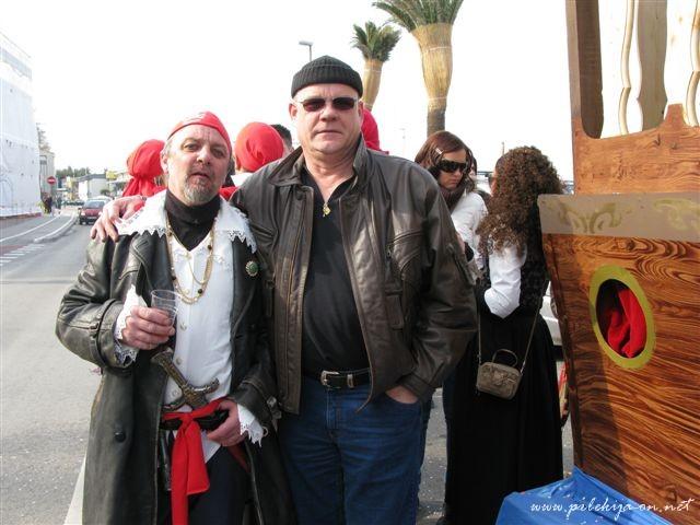fašenk v Kopri---Karleto in Miro