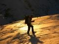 Obsijan - sončni zahod v gorah