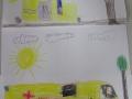 Otroci so narisali reševalno vozilo