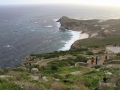 Pogled iz Cape Point do Cape of Good Hopea