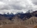 POGLED NA 5 IN 6 TISOČAKE - HRIB NAD LEHOM 4000m n.v. Indija
