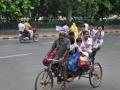 PREVOZ z RIKŠO - DELHI Indija