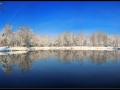 Zimska idila pri ribnikih