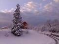 zimska idila v Mekotnjaku
